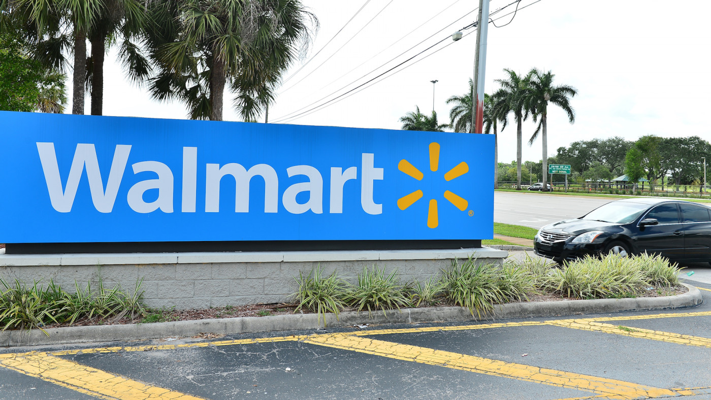 Walmart retail store is seen on July 16, 2020 in Pembroke Pines, Florida