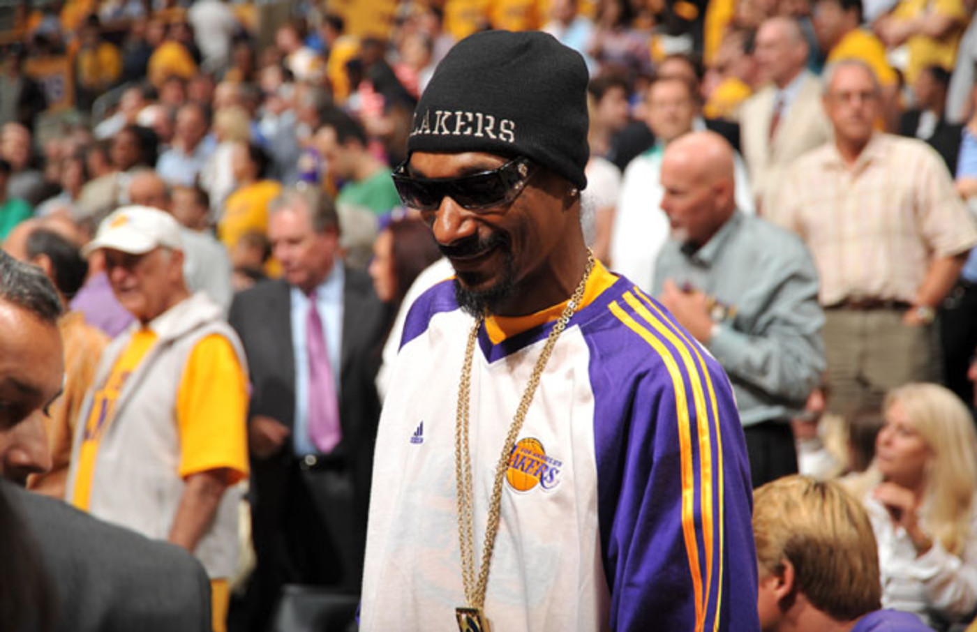 Snoop Dogg at the 2010 NBA Finals
