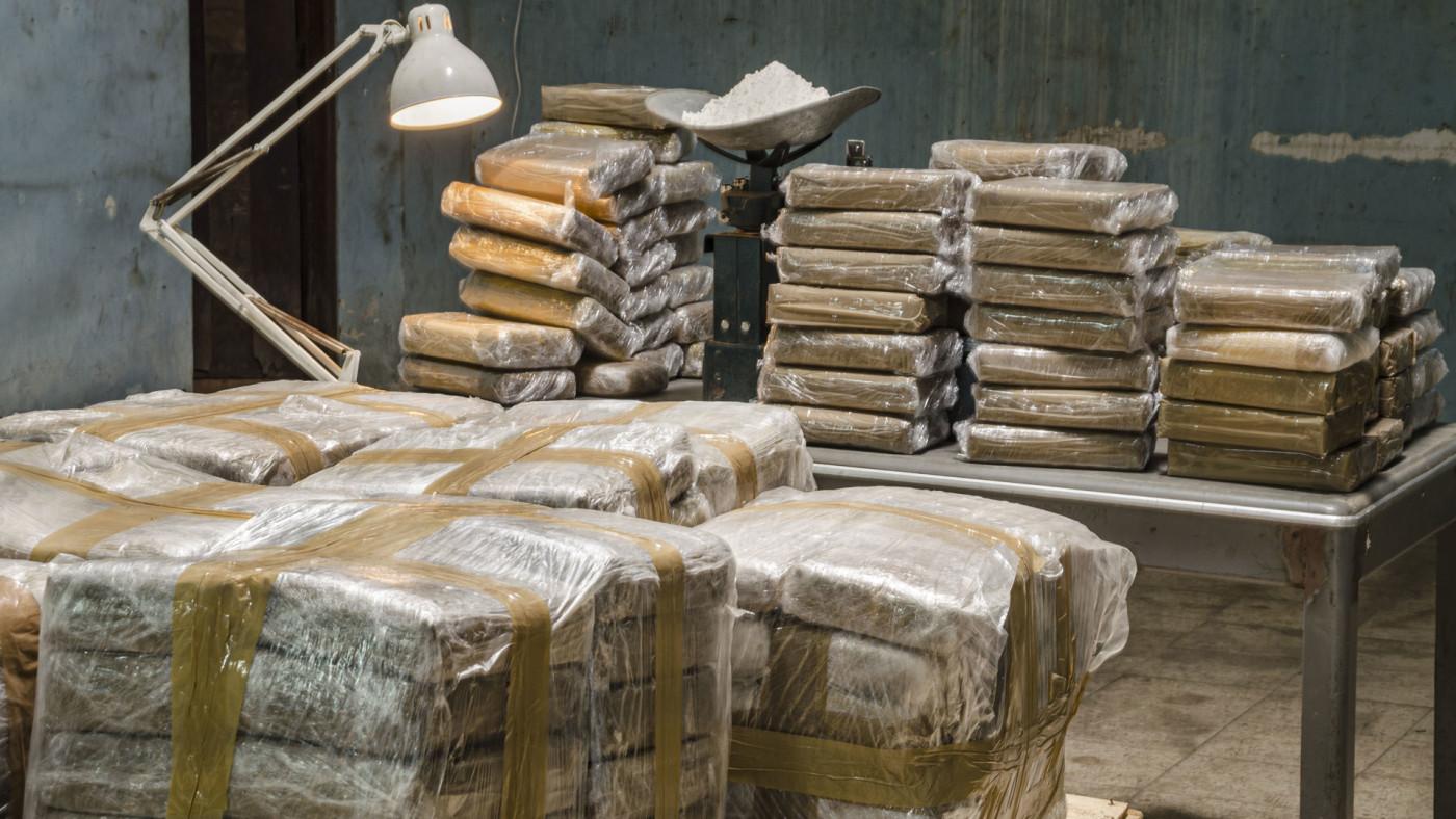 Stock image of cocaine.