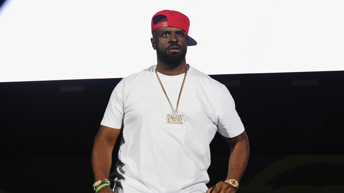 DJ Funkmaster Flex attends Summer Jam 2019 at MetLife Stadium
