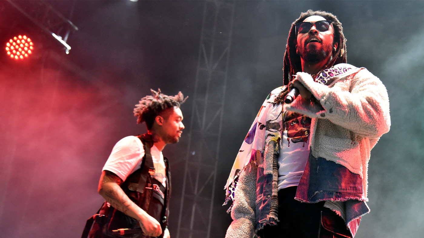 This is a photo of Earthgang.