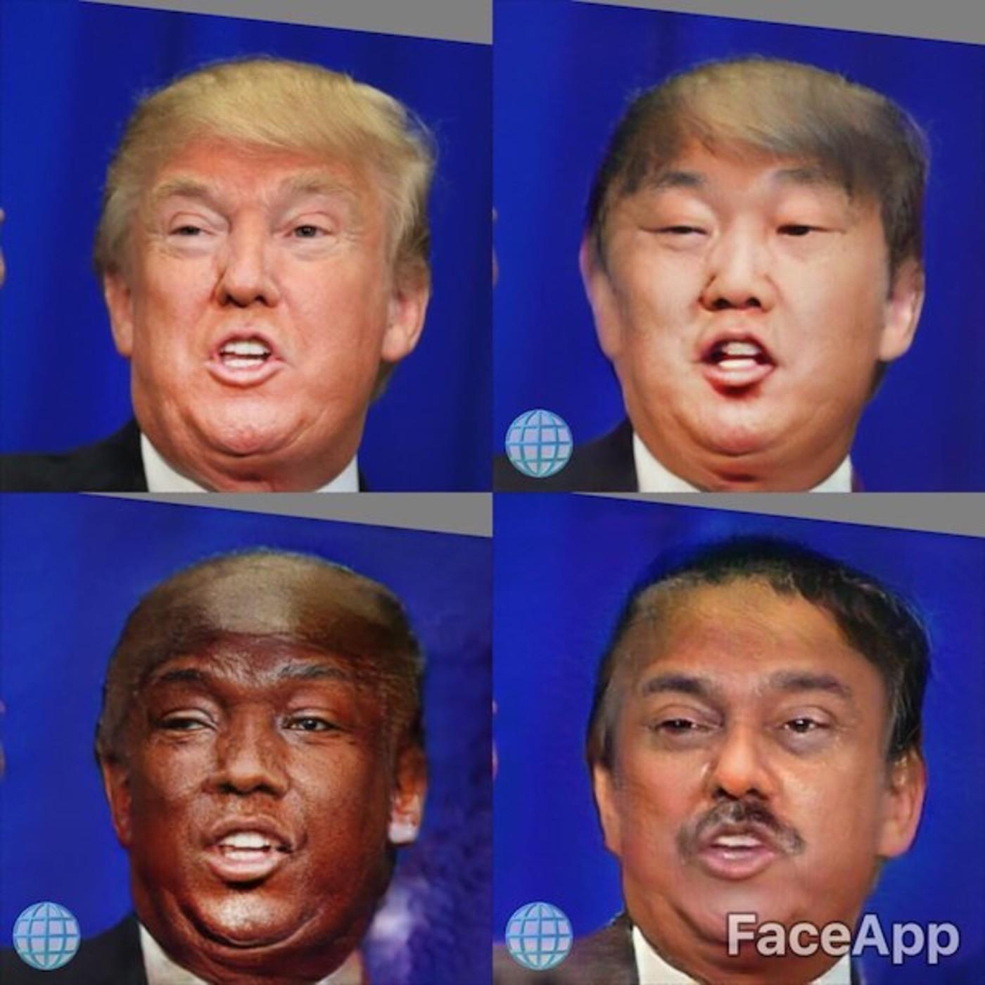 FaceApp Ethnic Filters