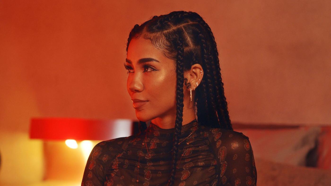 Jhené Aiko performs for the BET Hip Hop Awards