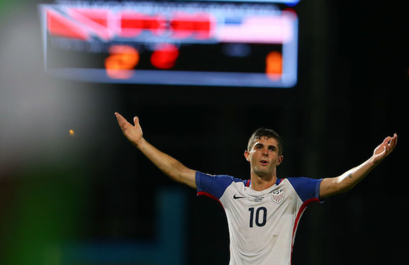 US soccer player