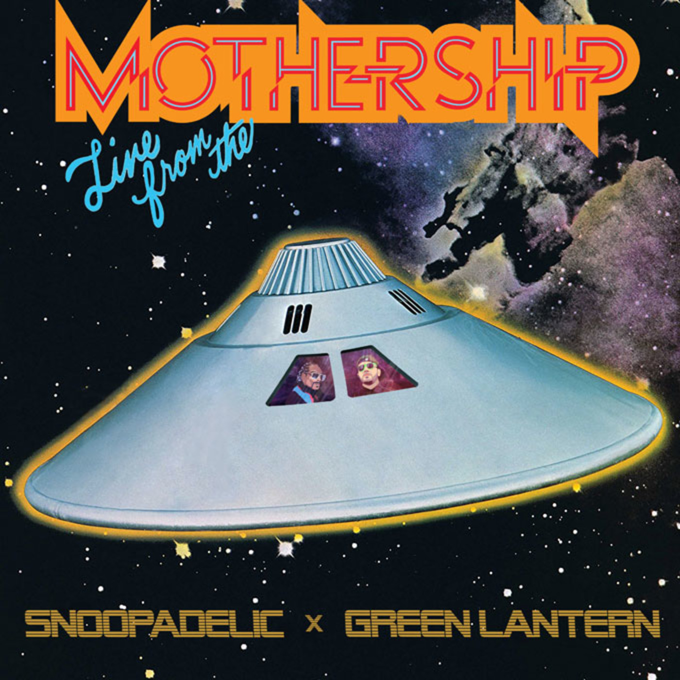 Live From The Mothership cover art