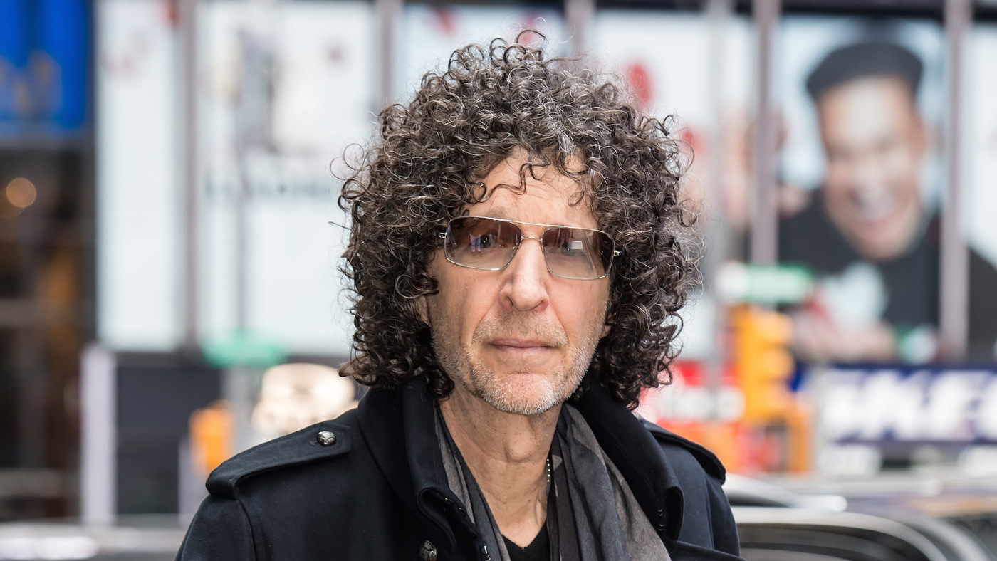 Radio and television personality Howard Stern