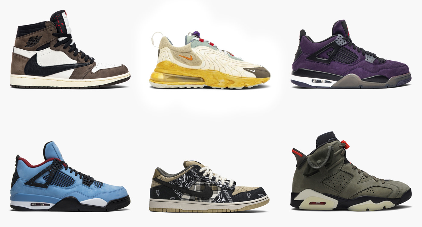 10 of Travis Scott's Most Coveted Sneaker Collaborations ...