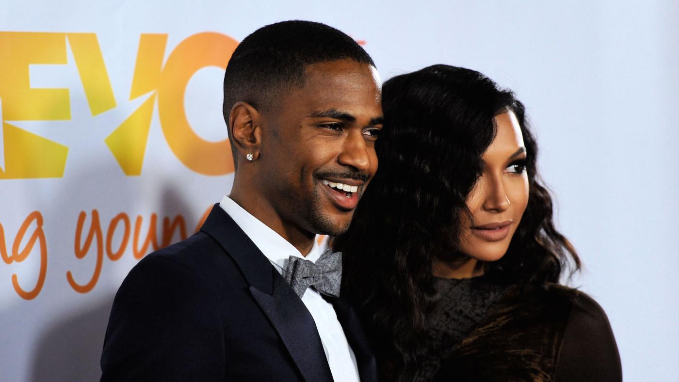 Hip hop artist Big Sean (L) and actress Naya Rivera