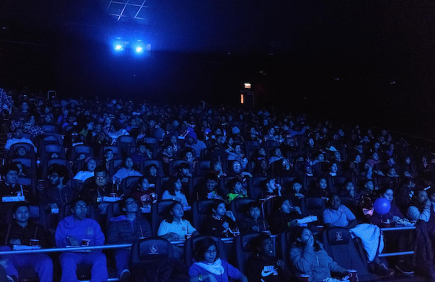 Black Panther screening.