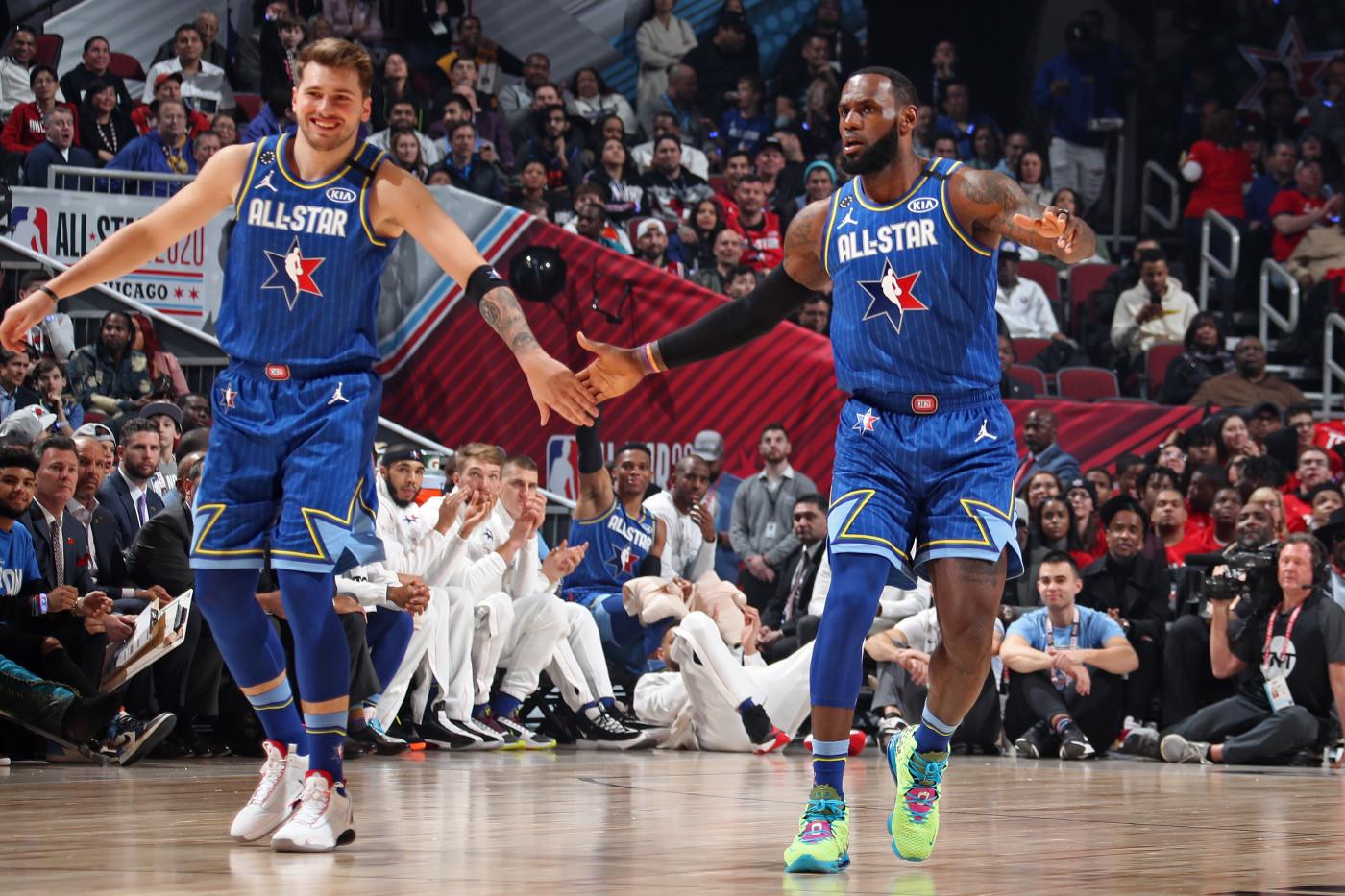 Luka Doncic & LeBron James