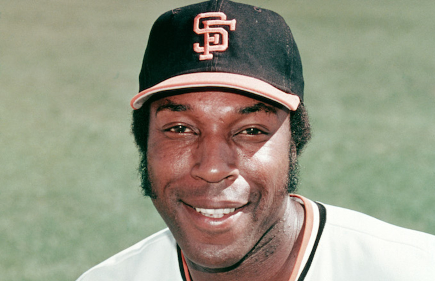 Willie McCovey #44 of the San Francisco Giants.