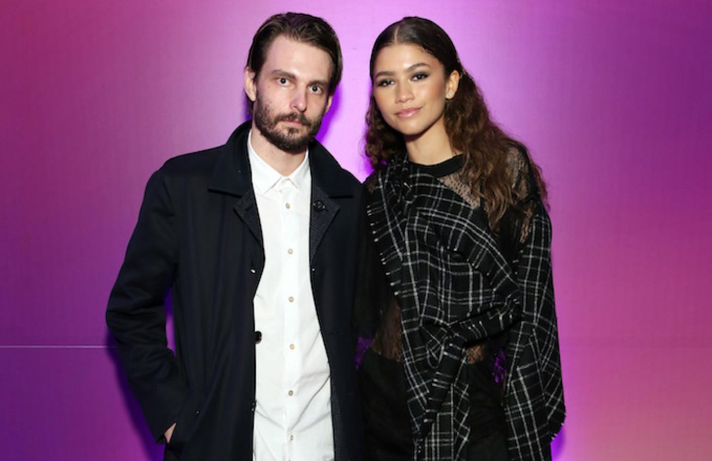 "Sam Levinson and Zendaya attend the New York screening of HBO's ""Euphoria."""