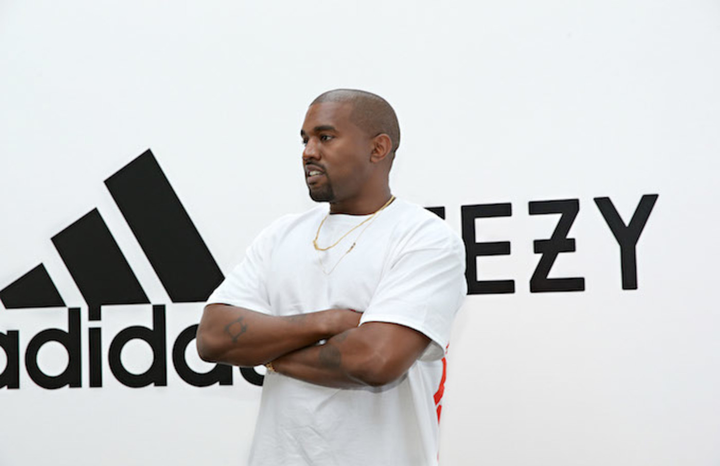Kanye West at Milk Studios