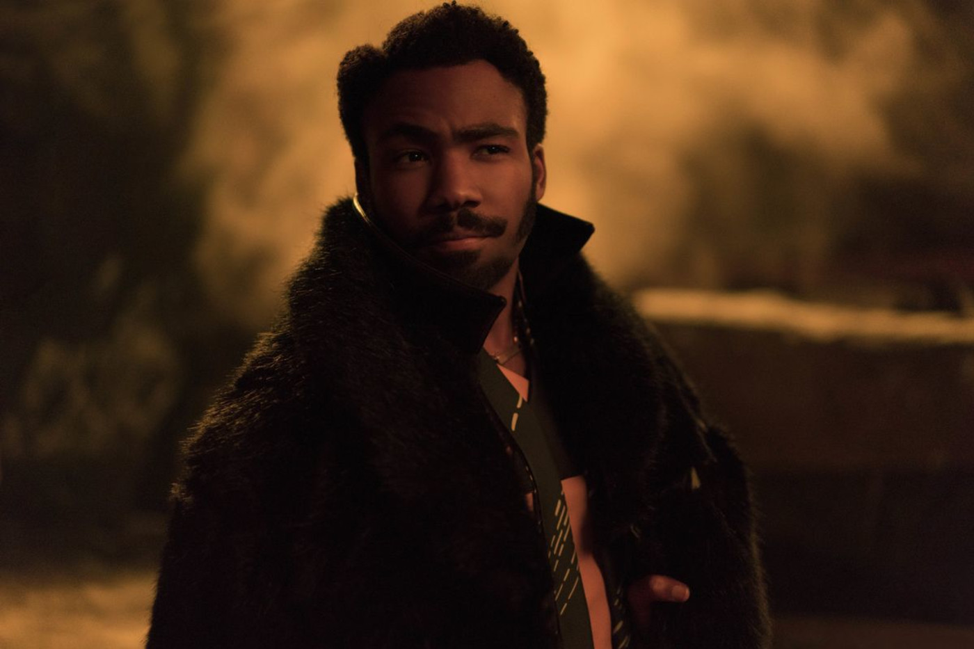 Donald Glover as Lando in 'Solo'