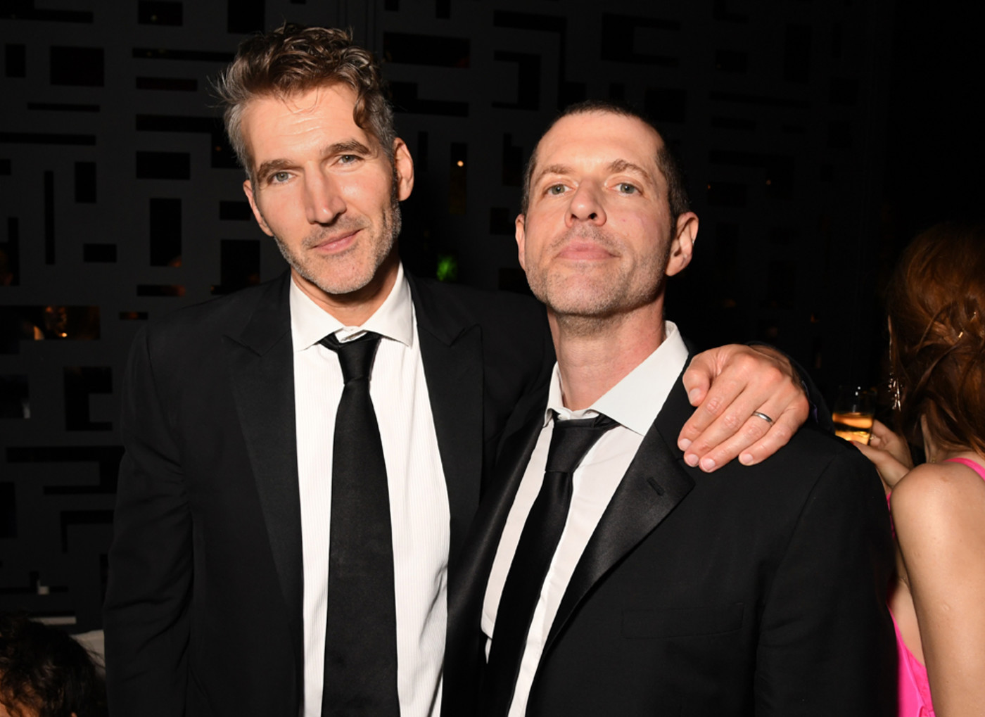 David Benioff and D.B. Weiss attend HBO's Official 2019 Emmy After Party
