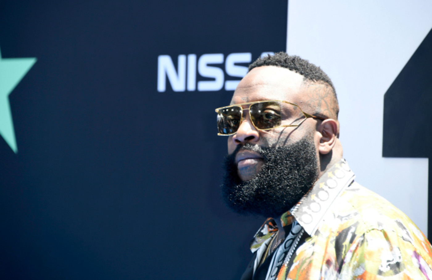 Rick Ross attends the 2019 BET Awards