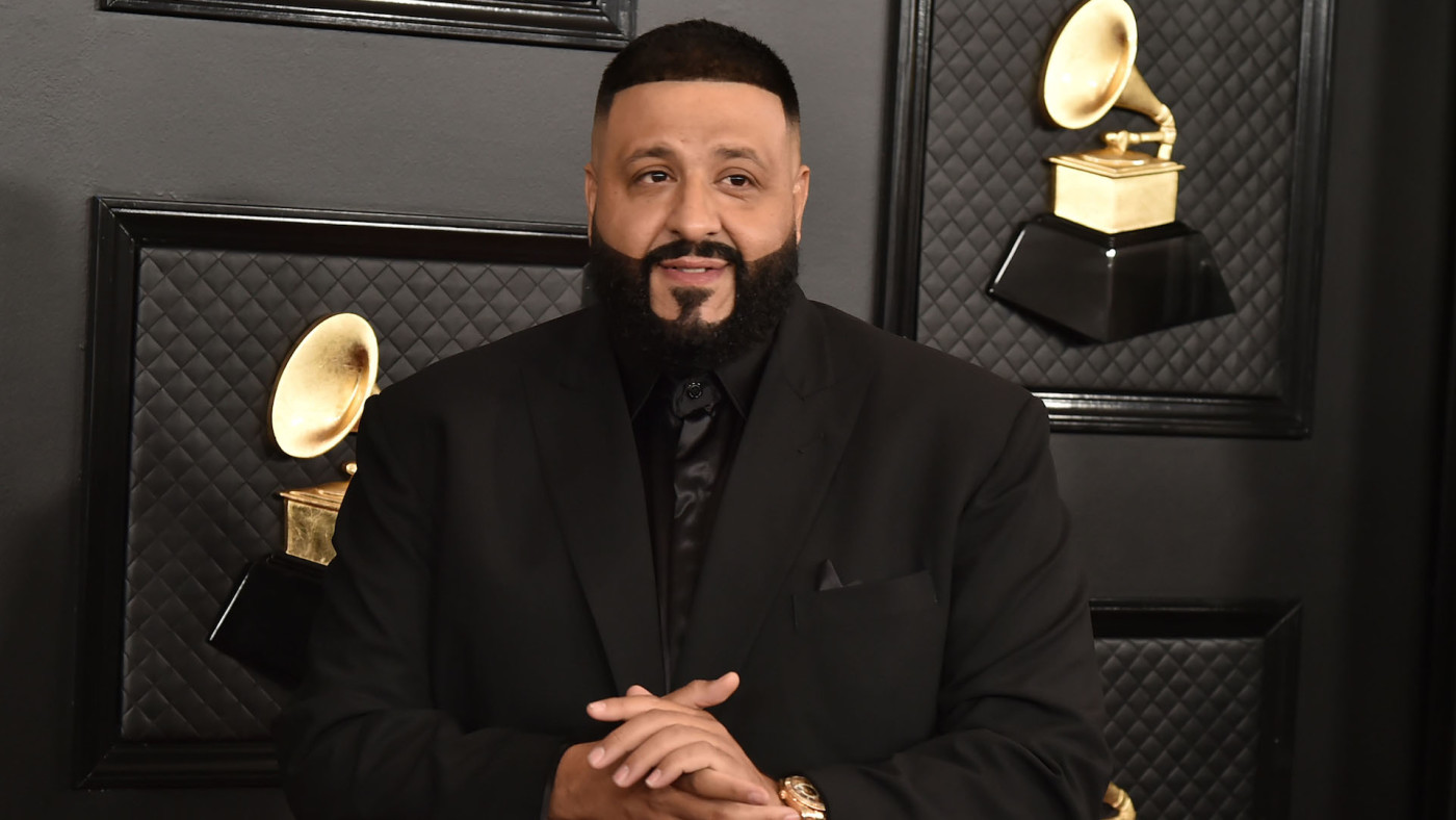 DJ Khaled attends the 62nd Annual Grammy Awards at Staples Center