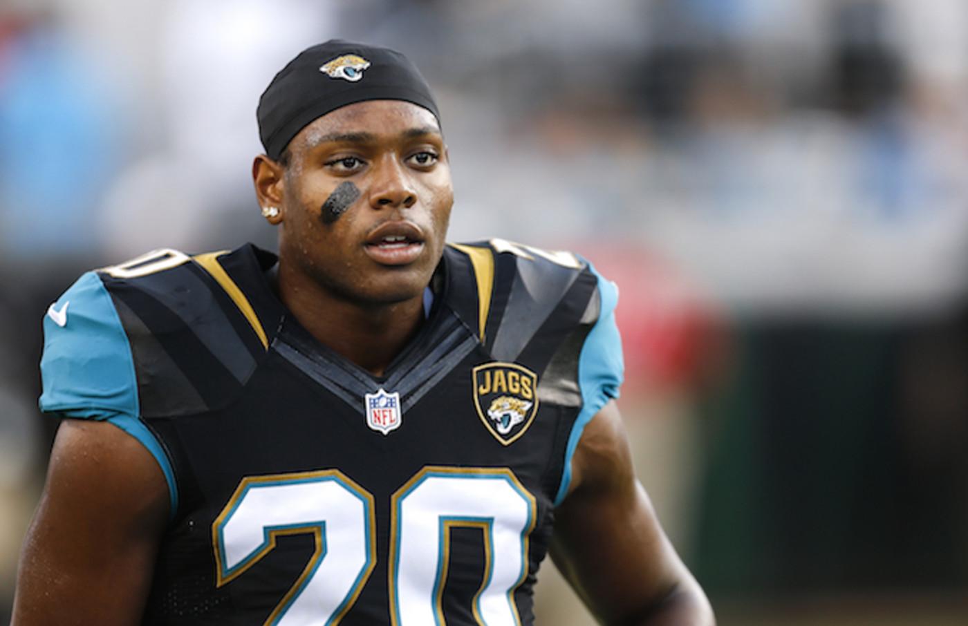 Cornerback Jalen Ramsey #20 of the Jacksonville Jaguars.