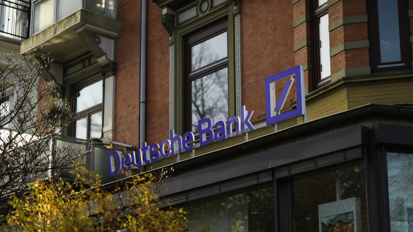 Deutsche Bank sign