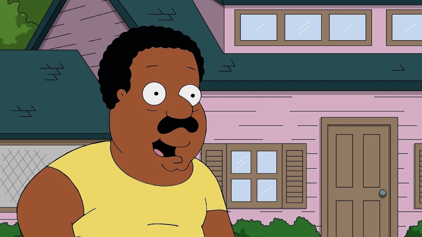 Cleveland Brown of Family Guy