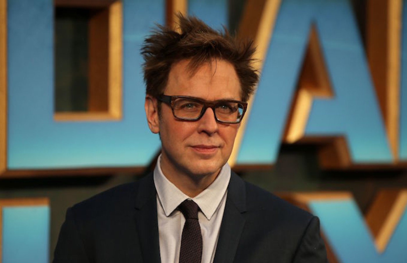 "James Gunn poses for screening of ""Guardians of the Galaxy Vol. 2"""