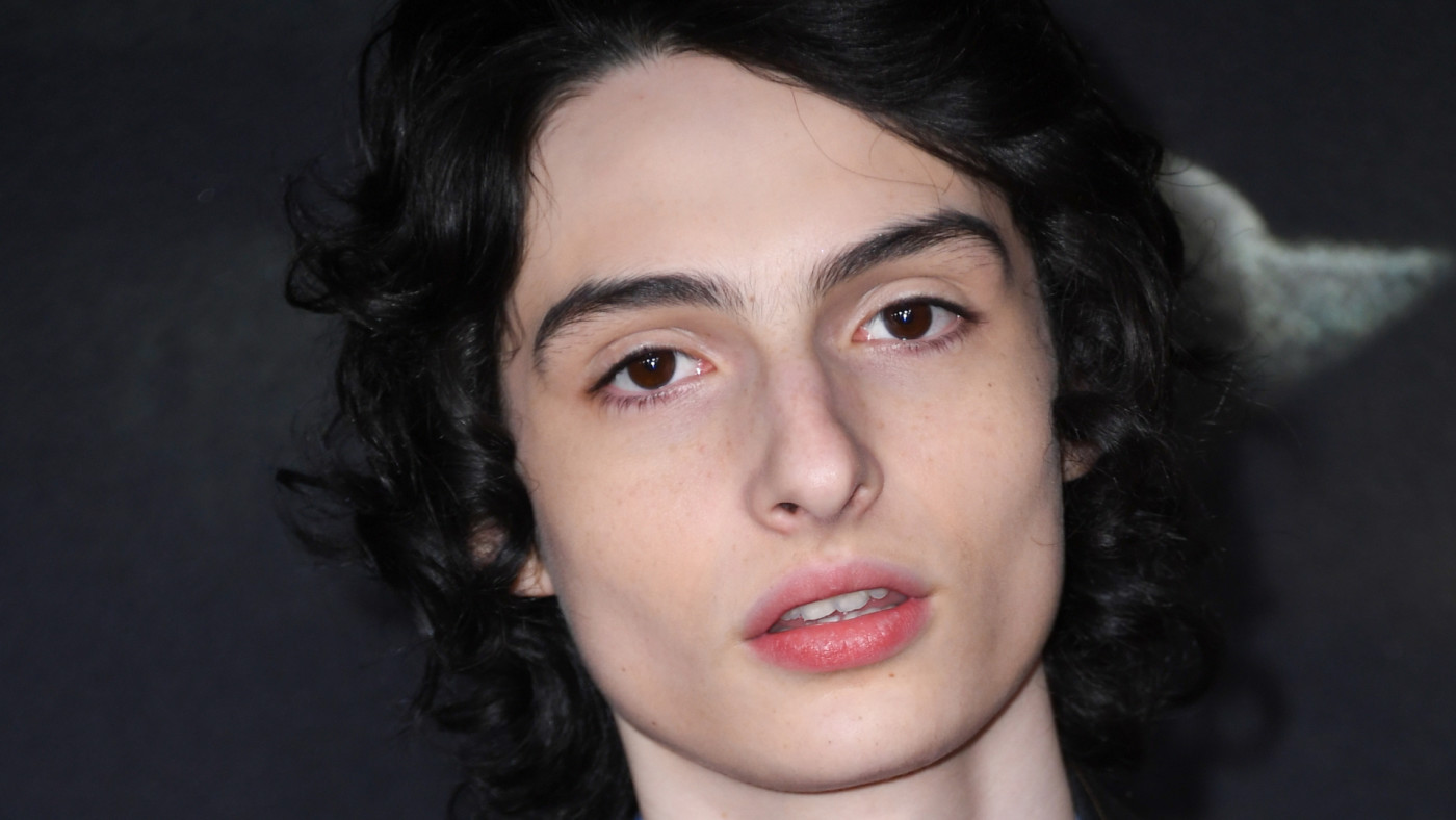 """Finn Wolfhard arrives for """"The Turning"""" premiere."""