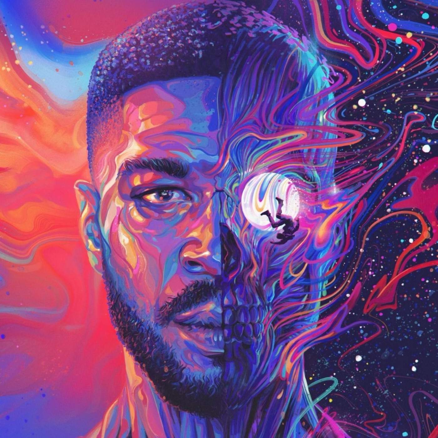 Here S The Story Behind Kid Cudi S Man On The Moon Iii Cover Art Complex