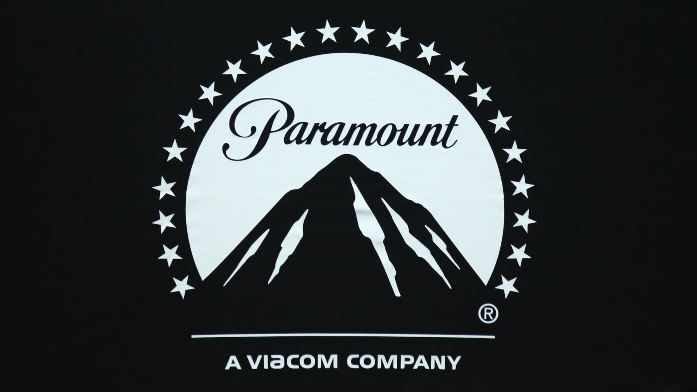 A logo for Paramount Pictures