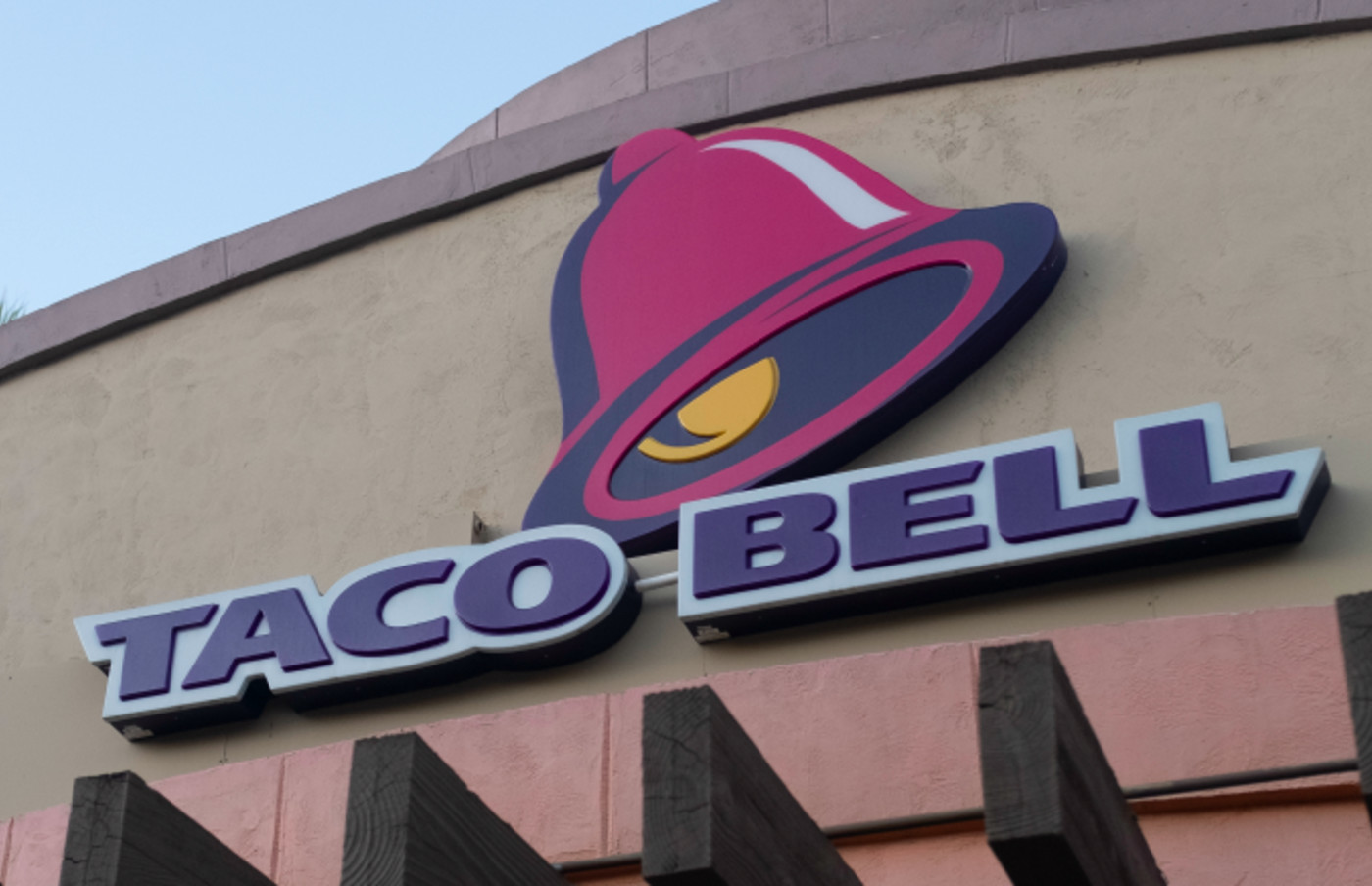Taco Bell logo is seen in Mountain View, California