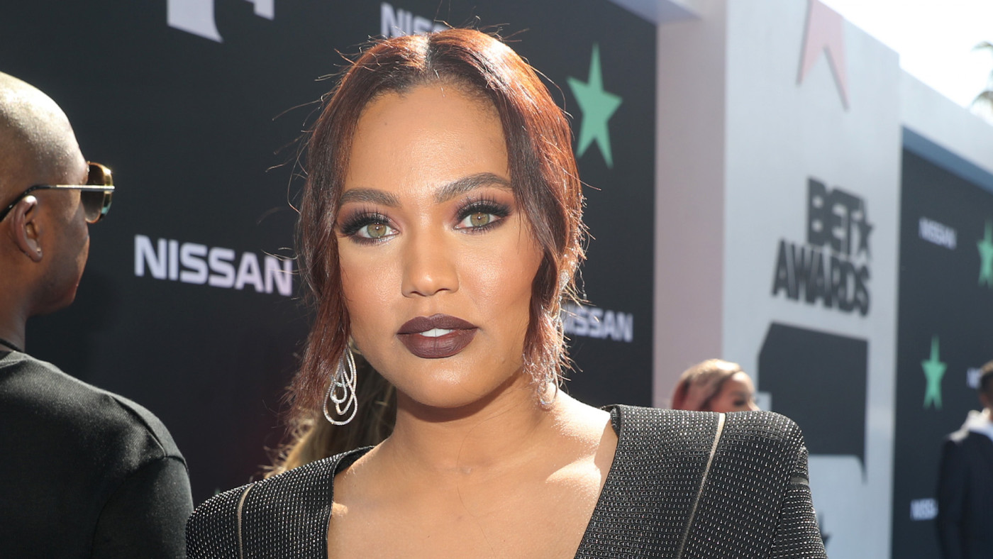 Ayesha Curry attends the 2019 BET Awards at Microsoft Theater