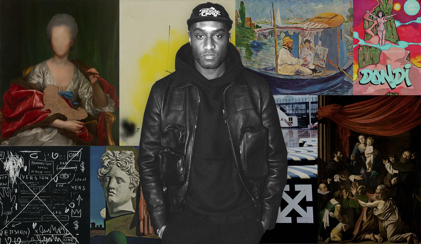 The Art That Inspires Virgil Abloh