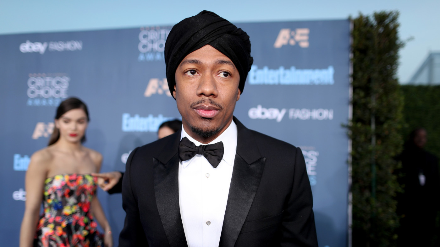 Nick Cannon attends The 22nd Annual Critics' Choice Awards.