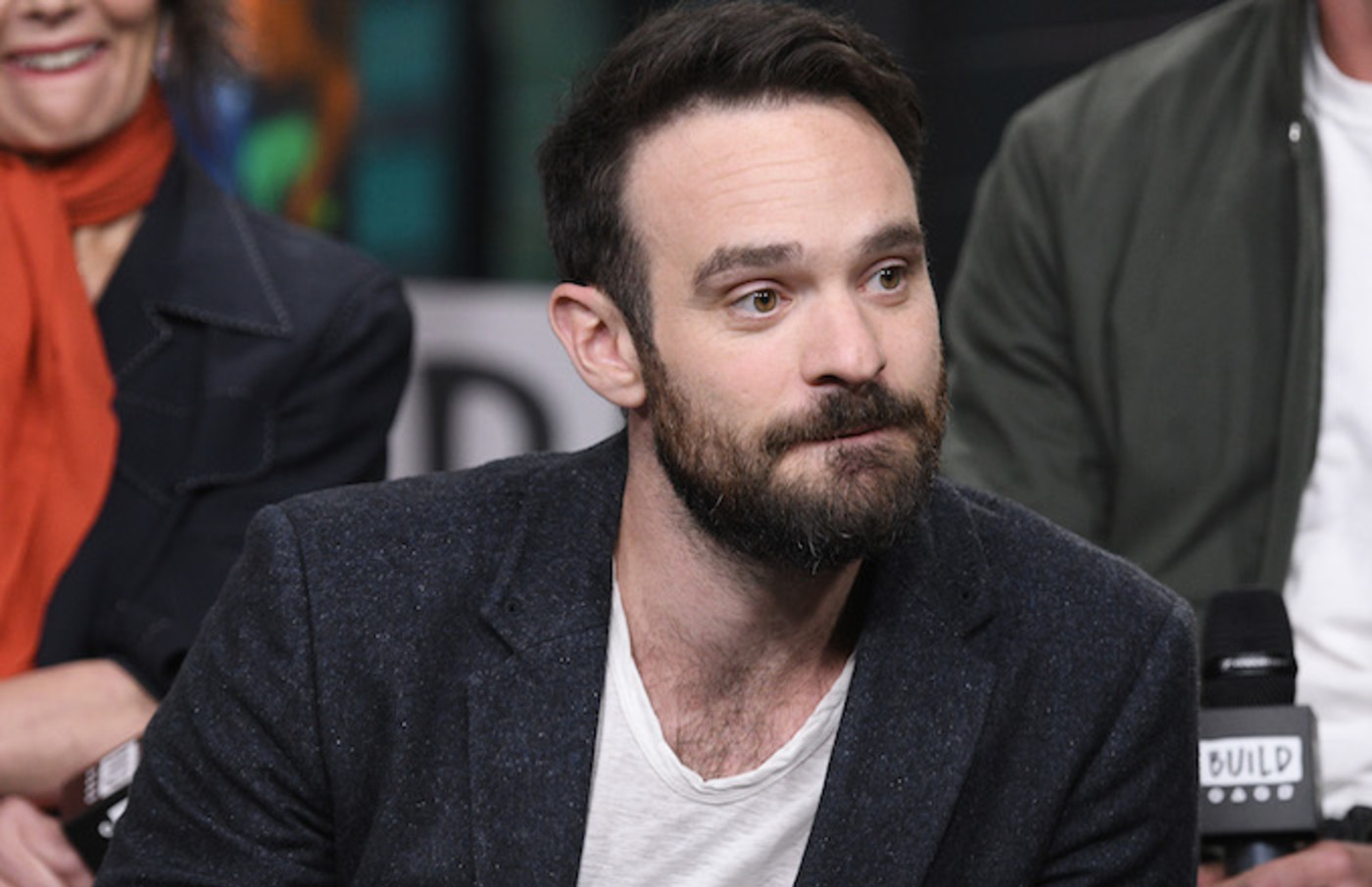 Charlie Cox visits Build Series to discuss the Netflix series 'Daredevil.'
