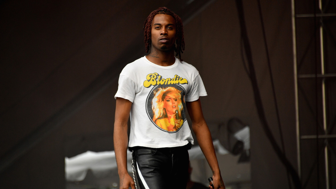 Playboi Carti performs at the 2019 Governors Ball Festival