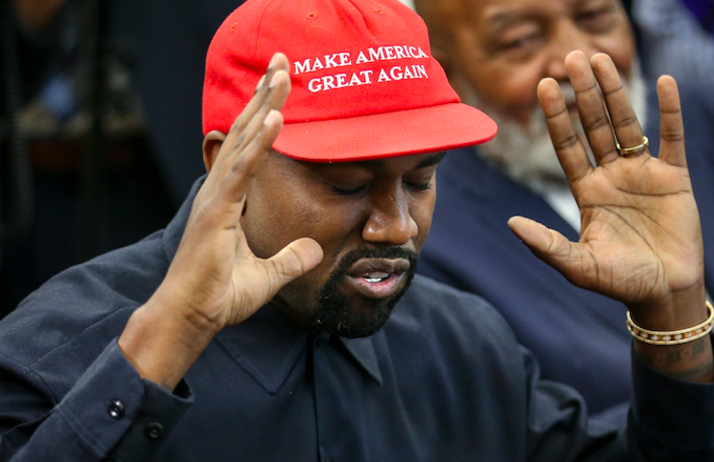 GLC Claims Kanye West Won't Wear the MAGA Hat Ever Again | Complex