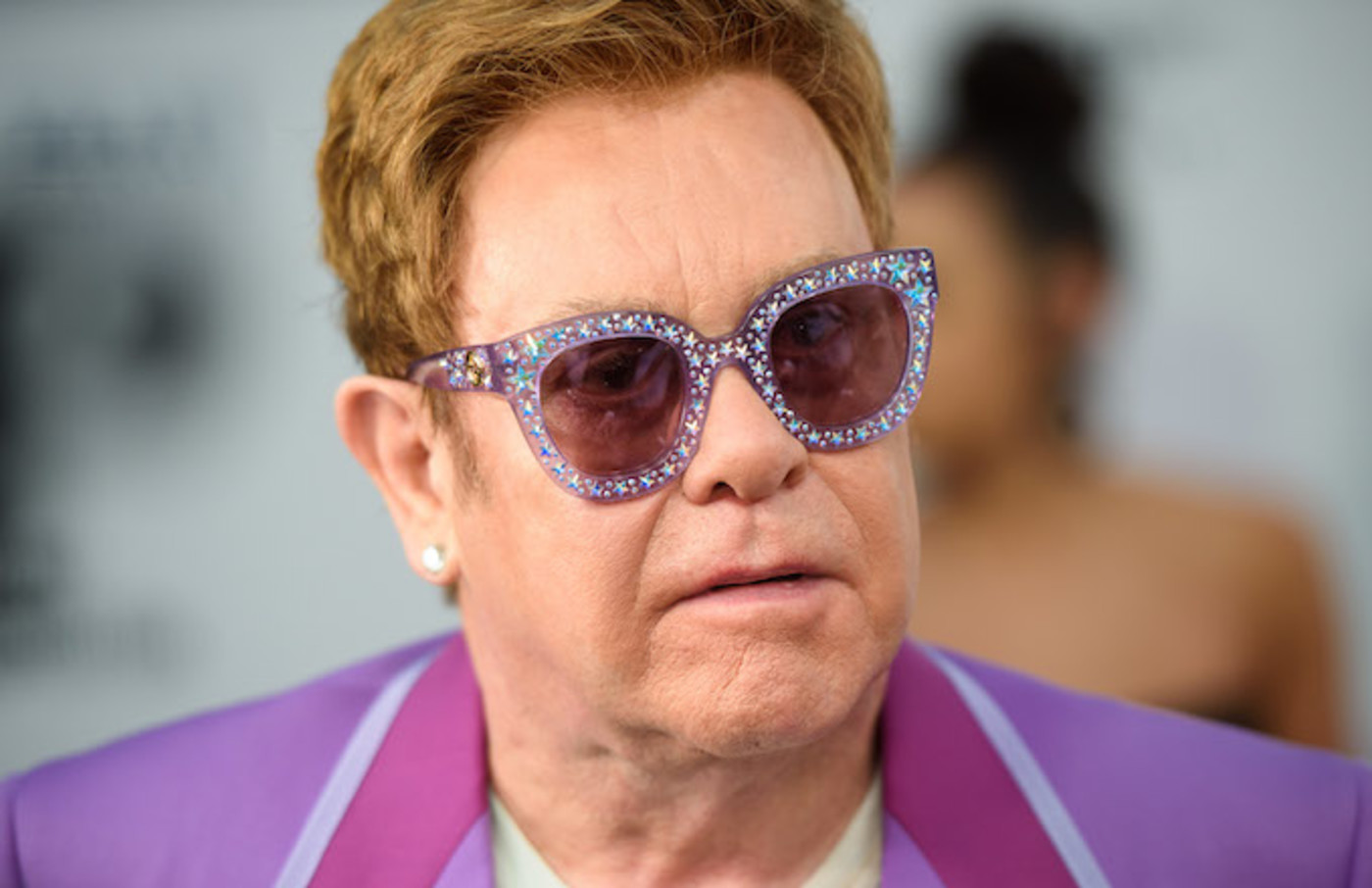 Elton John attending the Elton John Aids Foundation Midsummer Party.