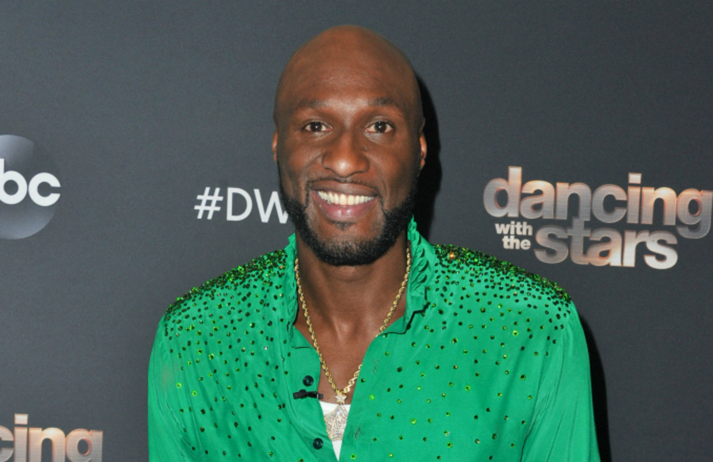 """Lamar Odom arrives at the """"Dancing With The Stars"""""""