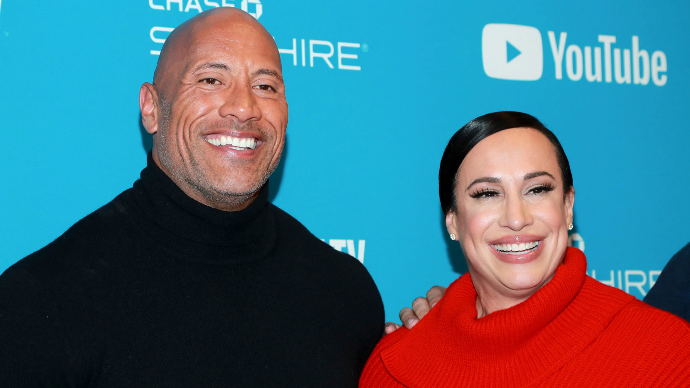 Dwayne Johnson and Dany Garcia