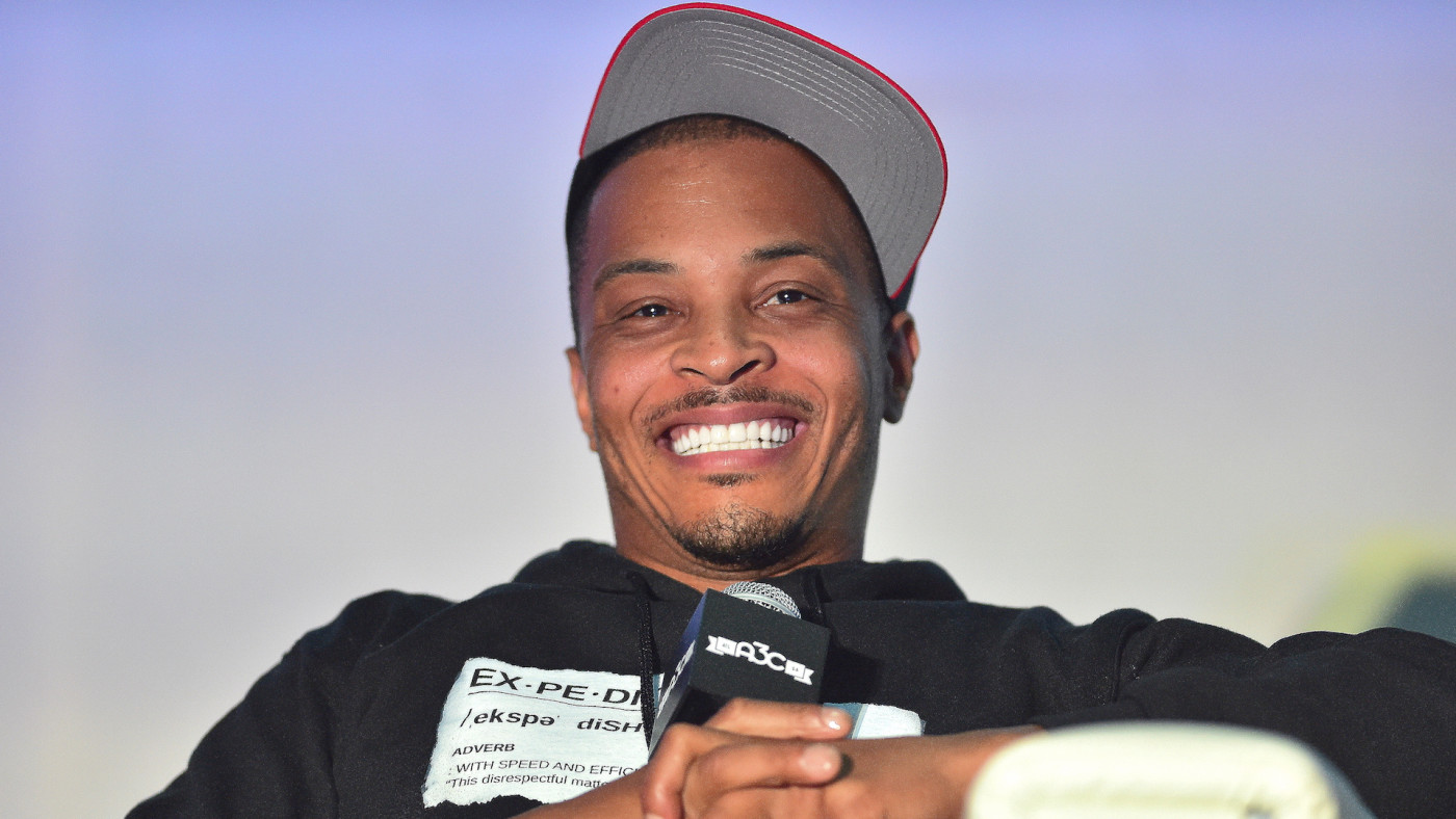 T.I. attends 2019 A3C Festival & conference