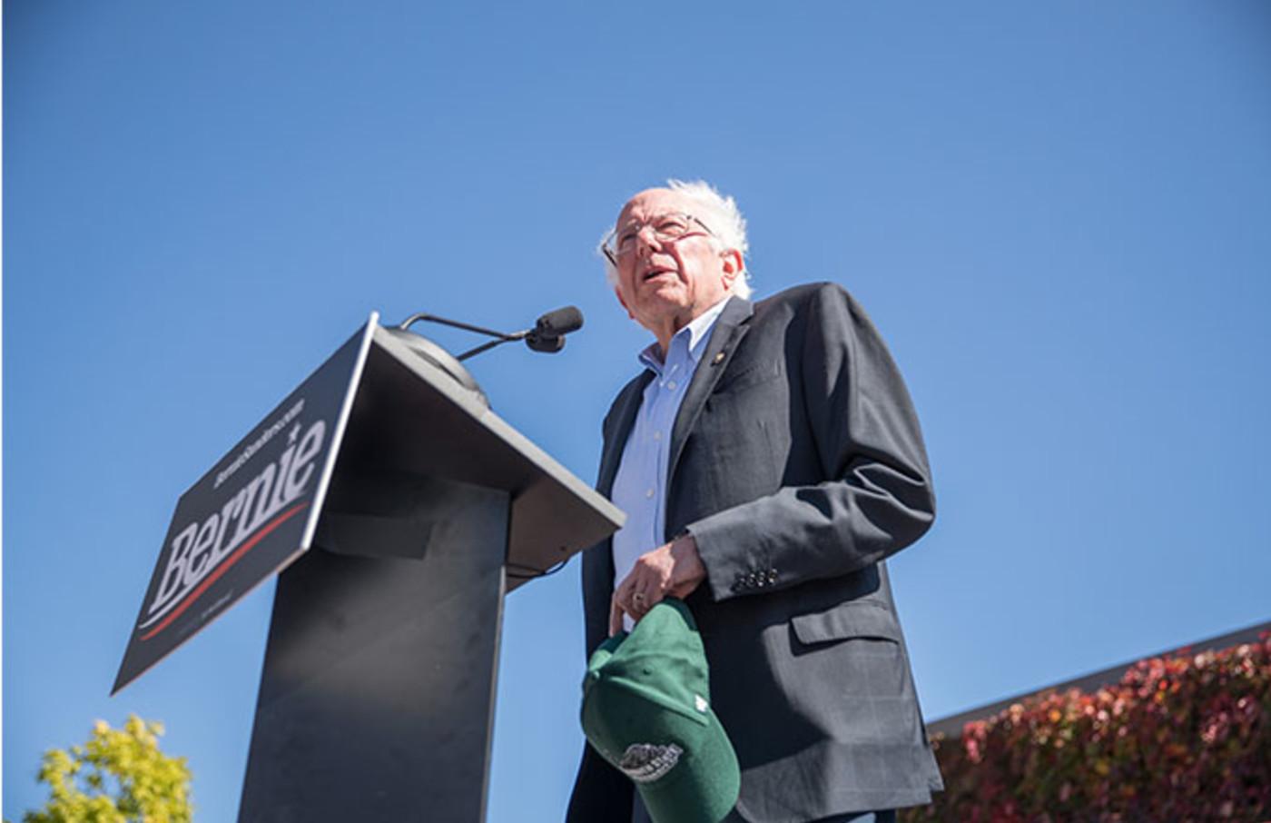 This is a photo of Bernie Sanders.
