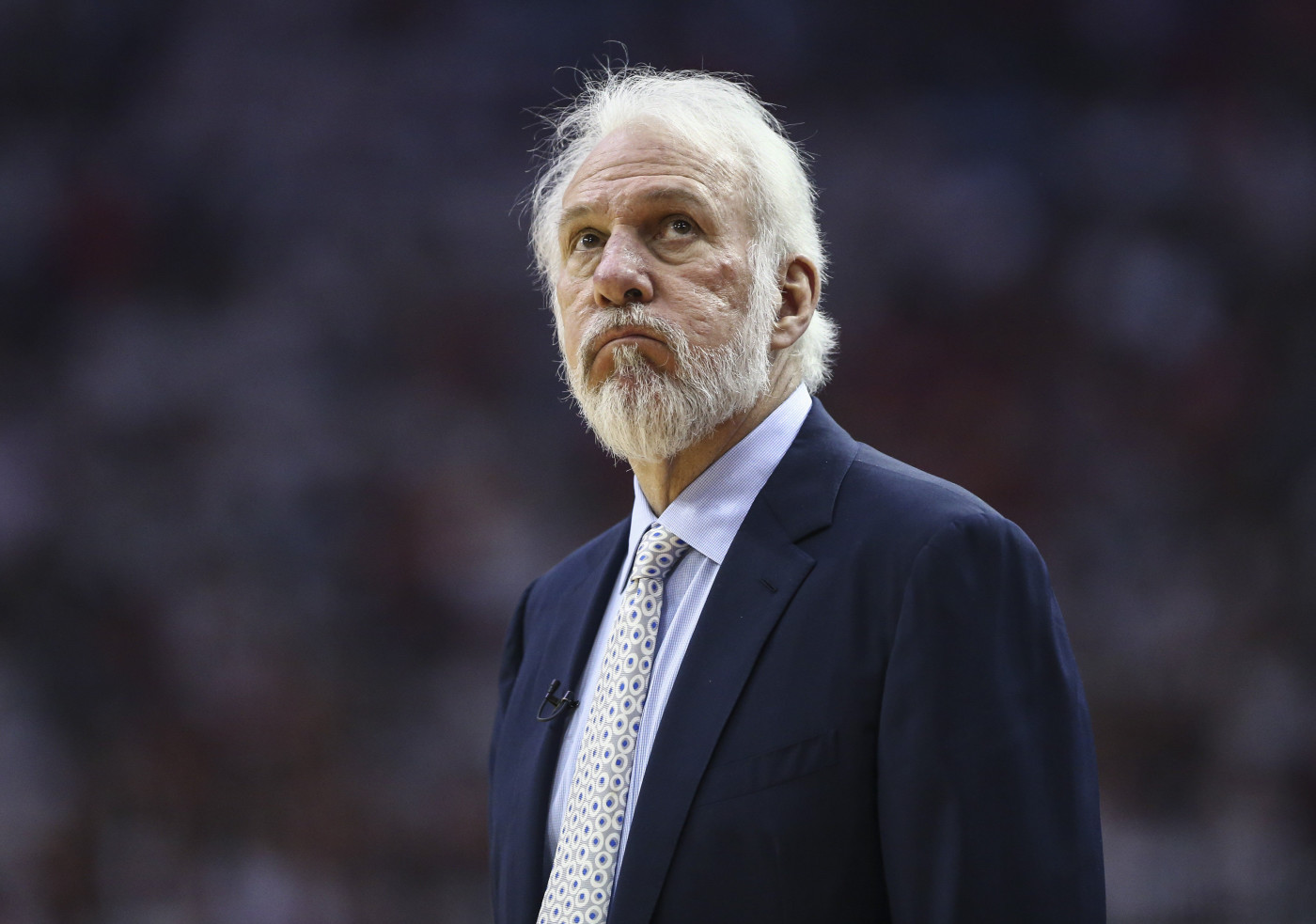 Gregg Popovich Spurs Rockets Game 4 2017