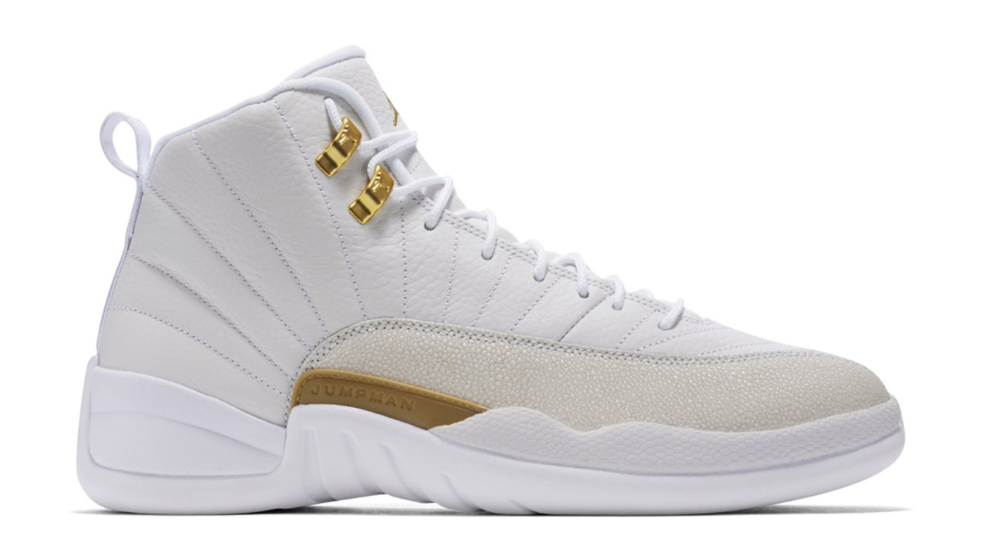 "Air Jordan 12 Retro X OVO ""White"""