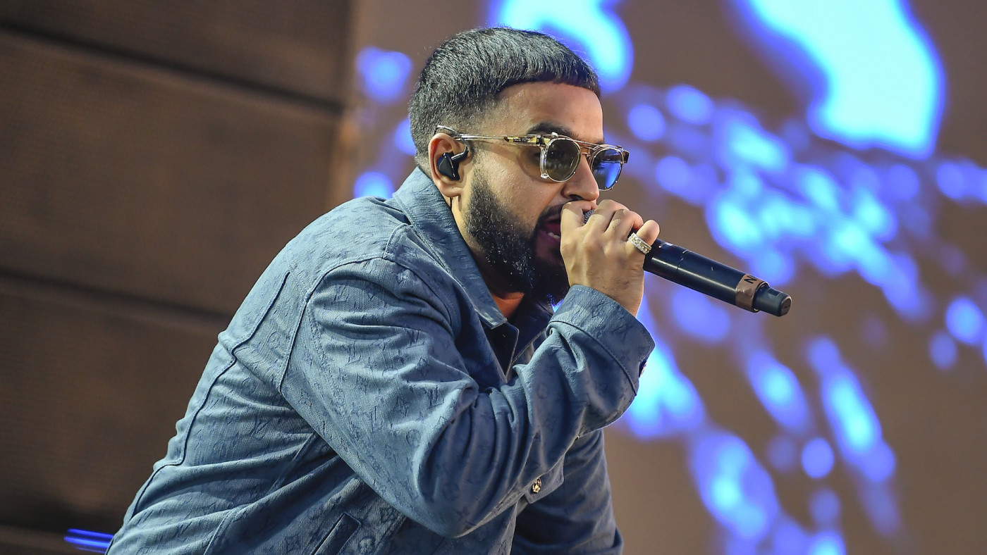 Nav performs during the 2019 Rolling Loud Music Festival.