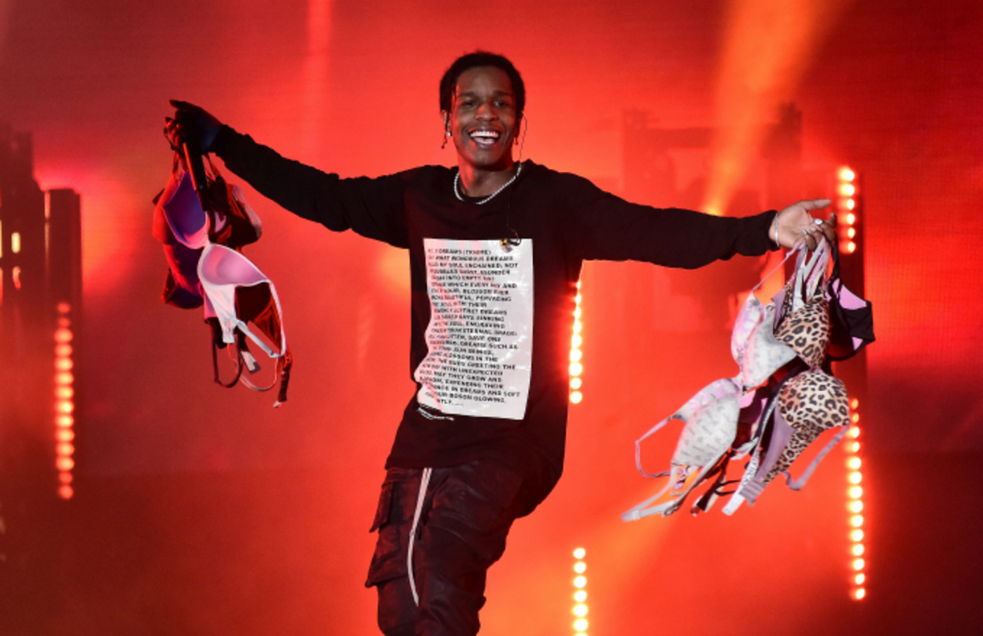 A$AP Rocky performs live during Rolling Loud music festival