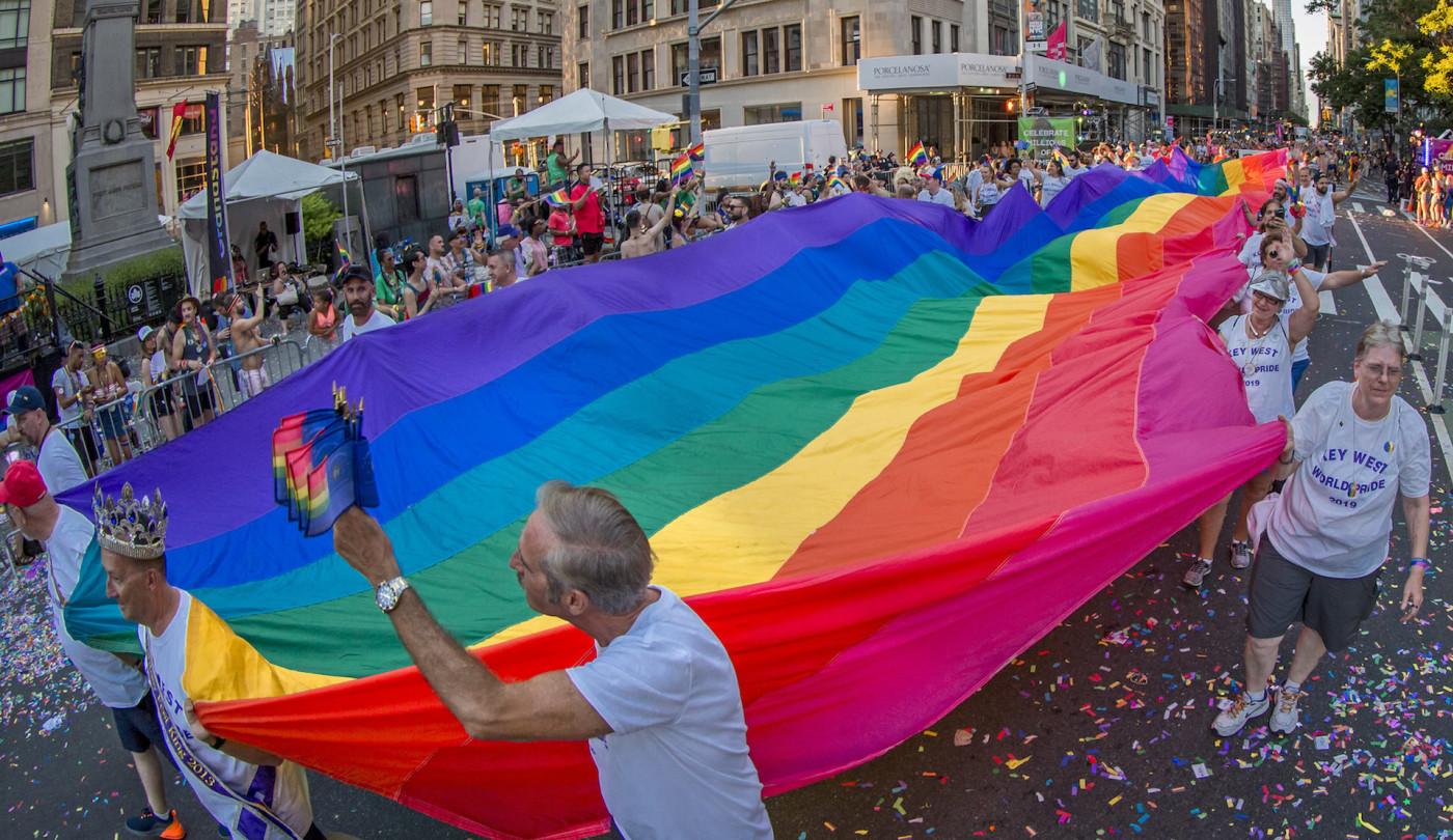 LGBTQ Pride march