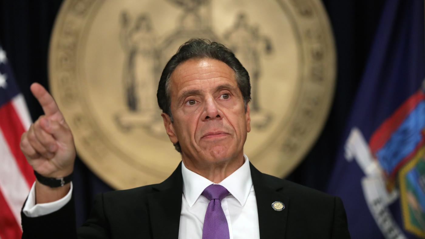 New York state Gov. Andrew Cuomo