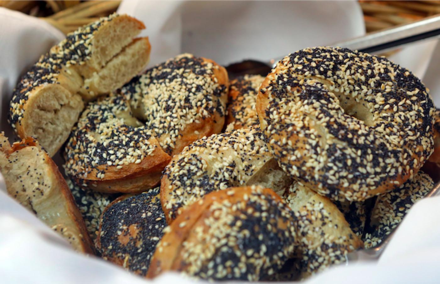 Poppy-seed bagels