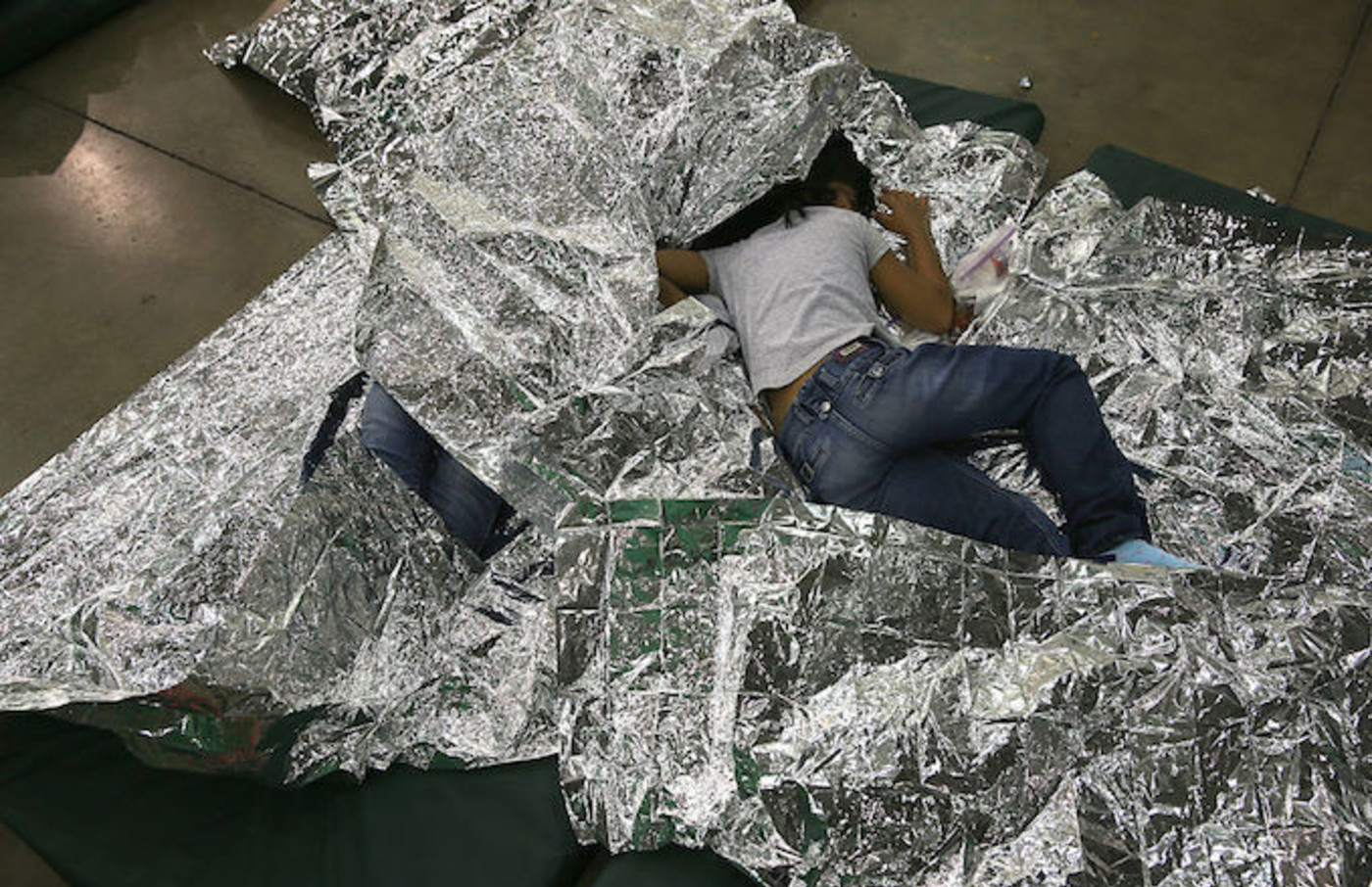 Border Patrol Facility Video