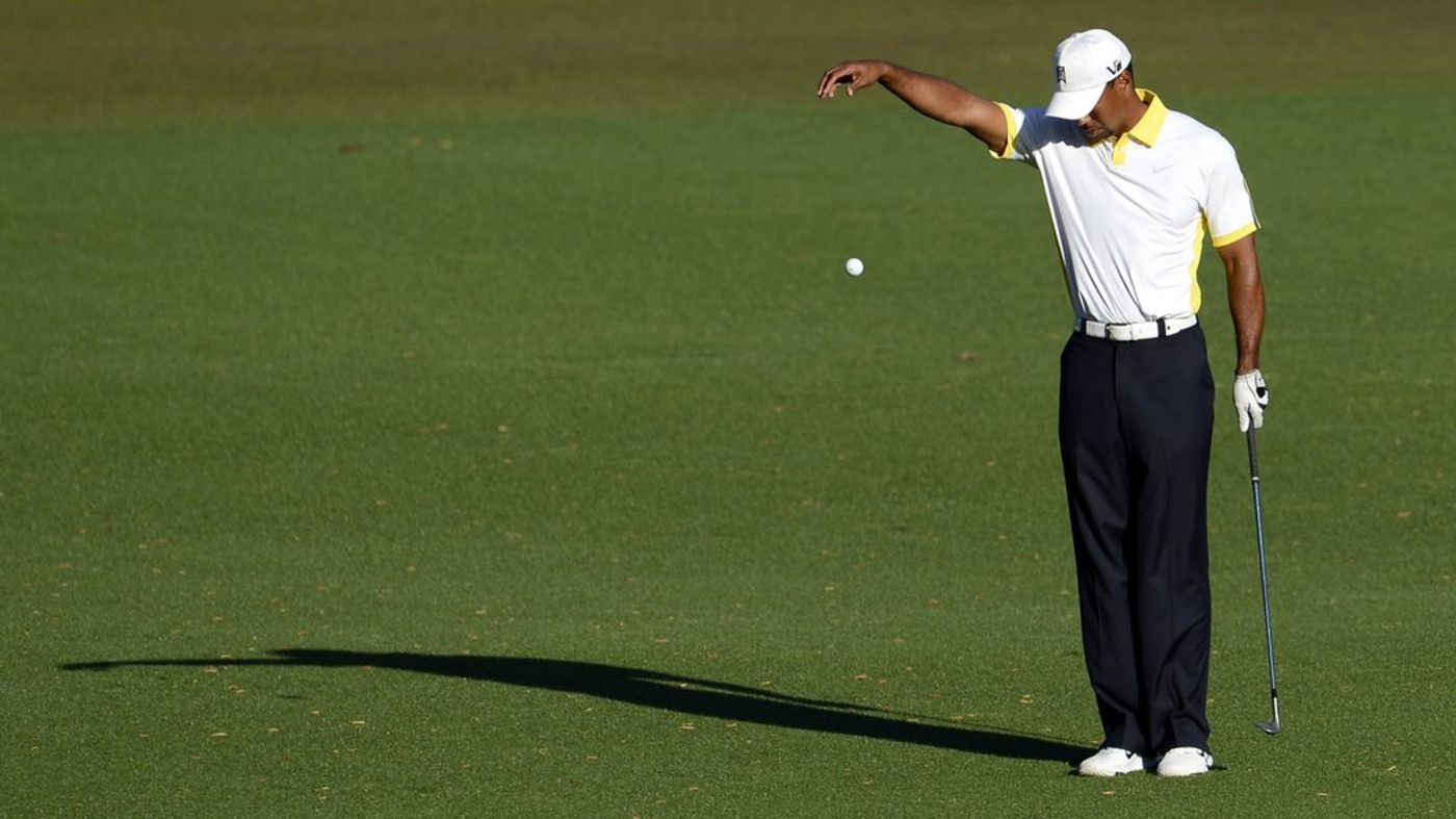 Tiger Woods Got Himself Penalized and Almost Disqualified at the Masters