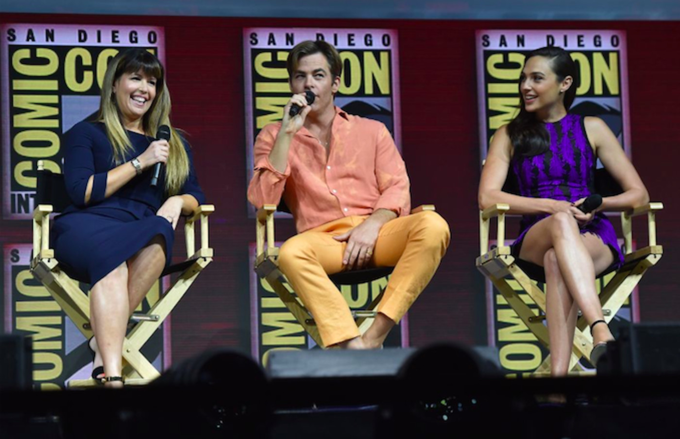 'Wonder Woman' Comic-Con Panel